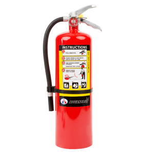 Badger Advantage 10lb Abc Dry Chemical Fire Extinguisher W Wall Hook
