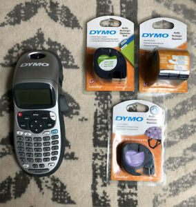 Dymo Letratag Label Maker With Refills Bundle