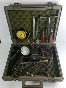 Otc Fuel Injection Tool Kit Injector Tester Gauge Everything Pictured