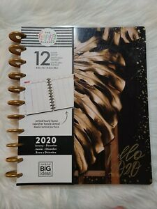 The Happy Planner hello 2020 Large Vertical Hourly Layout Planner M mbi
