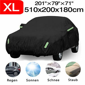 Universal Waterproof Full Car Cover Outdoor Breathable Rain Dust Uv Protection