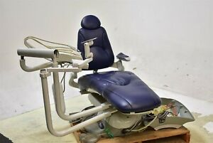 Pelton Crane Sp30 Dental Exam Chair Operatory Set up Package Blue Ultraleather