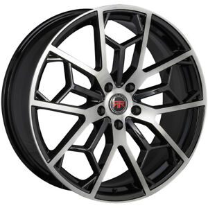 4 Revolution Racing Rr23 18x8 5x4 5 40mm Black Machined Wheels Rims 18 Inch