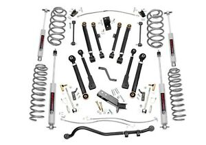 Rough Country 6 X series Suspension Lift Kit For Jeep Wrangler Tj 1997 2006