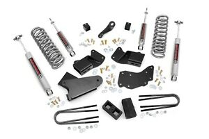 Rough Country Ford Ranger 4 Suspension Lift Kit W Rear Blocks 1983 1997 2wd