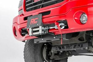 Rough Country Gm Hidden Winch Mounting Plate 99 06 1500 Pu