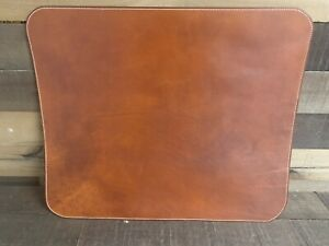 Big Bend Saddlery Genuine Leather Carlos Border Stamped Desk Mat 24 x36 New