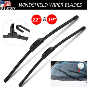 Fit For Chevy Colorado Gmc Cadillac Cts 22 19 H j hook Windshield Wiper Blades