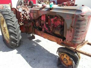 Massey Harris Mh 44 Diesel Special Tractor 3pt Hitch Top Link Power Steering