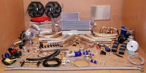 Turbo Kit Turbocharger Package 2 0l 4 Cylinder Jdm Manifold Stainless