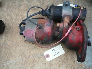 Ih Farmall A B C H M Tractor Distributor With Electronic Ignition 1