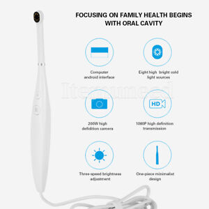 New Dental Camera Intraoral Focus Digital Usb Imaging Intra Oral Clear Images