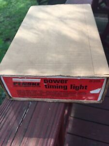 Penske Power Timing Light Model 244 2115 Sears Made In Usa In Box Used