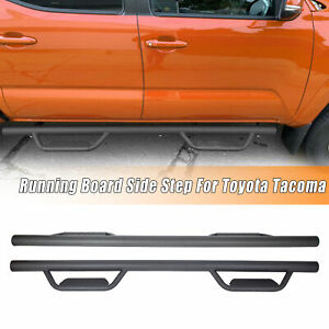 For 05 21 Toyota Tacoma Double Crew Cab 3 Running Board Nerf Bar Hoop Side Step