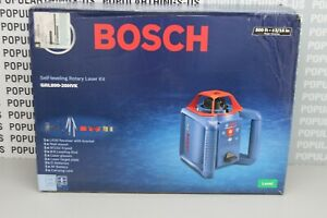 New Bosch Grl800 20hvk Self leveling Rotary Laser Kit Level 800ft