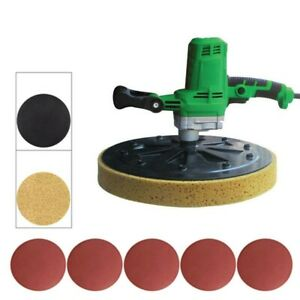 220v Concrete Cement Mortar Electric Trowel Wall Smoothing Polishing Machine New