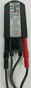 Vintage Wiggy 6610 Type Vt 1 Voltage Tester Square D Company Tested Works Great