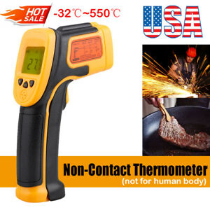Digital Thermometer Infrared Temperature Gun Non contact Ir Laser Point Us Stock