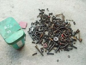 International Farmall 656 Hydro Tractor Ih Bucket Bolts Nuts Parts Pieces