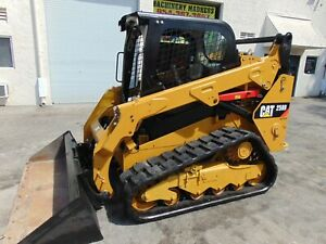 2015 Cat 259d 2 Turbo 2 Speed Self Leveling Track Loader