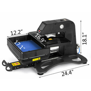 3d Pneumatic Vacuum Sublimation Heat Press Machine With 9 815inch Heating Plate