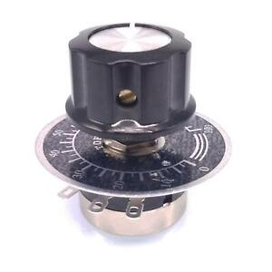 Us Stock 5k Potentiometer Rv24yn 20s B502 24mm With Knob And Digital Scale