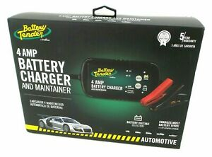 Battery Tender By Deltran 4 Amp Battery Charger And Maintainer Brand New Sealed