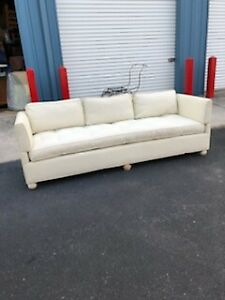 Large Vintage Lewis Mittman Inc Ny Ny Sofa Couch For Reupholstering
