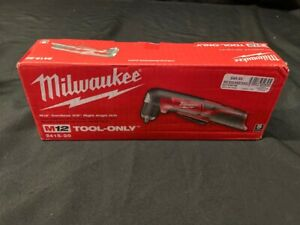 Milwaukee 2415 20 M12 3 8 Right Angle Drill Tool Only Unused Open ao1039148