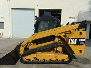 2015 Cat 299d xhp 110 Hp 2 Speed forestry Monster Super High Flow Aux Tanks