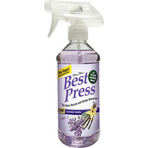 Mary Ellen#x27;s Best Press Clear Starch Alternative 16.9oz Lavender Vanilla $15.49
