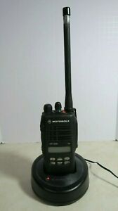Motorola Ht1250 Vhf Radio Aah25kdf9aa5an 136 174 Mhz With Charger