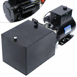 Manual Auto Car Lift Hydraulic Power Unit 220v Hydraulic Pump For Repair Shop Us