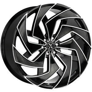 4 xcess X04 26x10 6x5 5 26mm Black milled Wheels Rims 26 Inch
