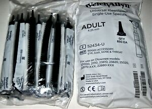 Welch Allyn 52434 u Universal Single use Specula 4 25 Mm Adult Tip 850ct Lotof 2