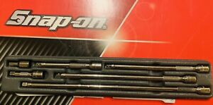 Snap On Tools 1 4 Drive 6 Pc Knurled Friction Ball Extension Set 106btmx Nice