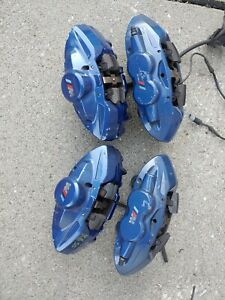 Bmw M240i Full Caliper Set Blue Paint Brembo 18 19