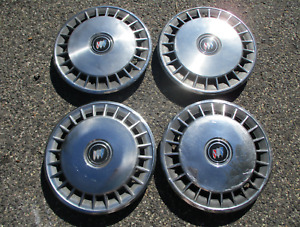 Original 1984 To 1994 Buick Century 14 Inch Metal Hubcaps Wheel Covers Beaters
