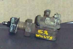 1953 Willys Overdrive Kick Down Switch