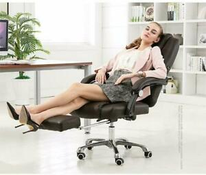 Gaming Chair W footrest Office Racing Computer Swivel Desk Chair Massage Suppor