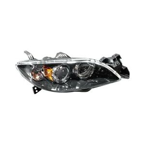 For Mazda 3 2004 2006 Pacific Best P83203 Passenger Side Replacement Headlight