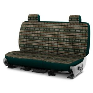 For Chevy Silverado 2500 04 Southwest Sierra 2nd Row Green Custom Seat Covers