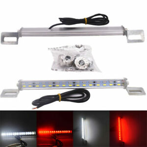 30led Car License Plate Backup Reverse Brake Rear Light 12v Red white Waterproof