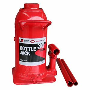 Aff 3630 30 Ton Super Duty Manual Hydraulic Bottle Jack