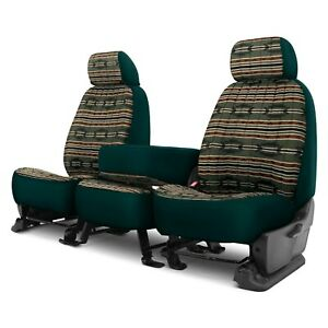 For Dodge Ram 3500 09 Southwest Sierra 1st Row Green Custom Seat Covers