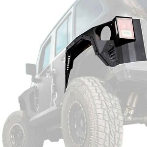 For Jeep Wrangler Jk 18 Smittybilt Xrc Gen2 Textured Black Rear Fender Armors