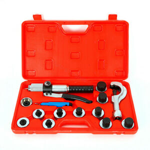 Hydraulic 11 Lever Tubing Expander Tool Swaging Kit Hvac Tube Piping Pipe Expand