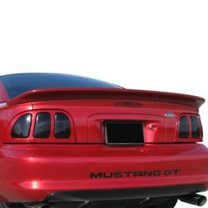For Ford Mustang 94 98 Spoiler Custom Saleen Style Fiberglass Flush Mount Rear