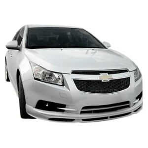 For Chevy Cruze 11 14 Rs Style Front Bumper Lip Under Spoiler Air Dam Unpainted