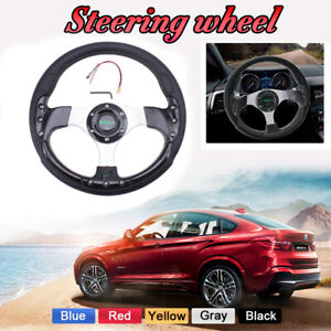 12 5inch 315mm Drifting Racing Sport Steering Wheel With Horn Electronic Usa